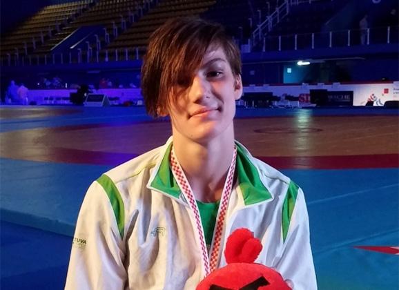 D.Domikaitytė pasipuošė bronzos medaliu