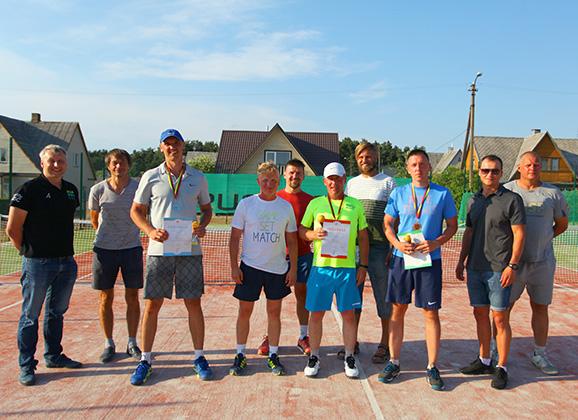 Anykščiuose vyko Lietuvos kariškių teniso čempionatas (FOTO)