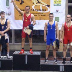Anykštėnai dalyvavo imtynių čempionate Vilniuje