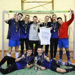 """Anykščių rajono salės futbolo čempionate triumfavo """"Šiandien plotas"""" (FOTO)"""