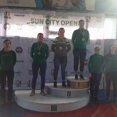 Anykščių KKSC imtynininkėms – sidabro ir bronzos medaliai