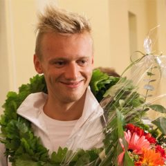 G.Titenis iškovojo bronzos medalį!