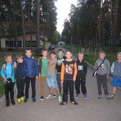 Jaunieji Anykščių futbolininkai dalyvavo turnyre Latvijoje