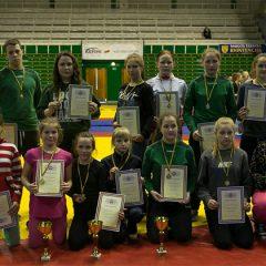 Anykščių imtynininkės Kaune iškovojo keturis aukso medalius (FOTO)