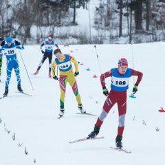 Anykščių slidininkai išbandė jėgas Latvijoje
