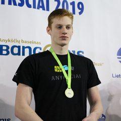 Plaukimo festivalio startas: J.Bačkulis tapo čempionu (FOTO, VIDEO)