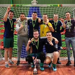"Anykščių rajono salės futbolo čempionate triumfavo ""Penkiasdešimt"" (FOTO)"