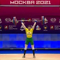 Europos čempionate G. Bražaitė užėmė penktą vietą!