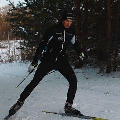Ą.Bajoravičius ragina išbandyti slidinėjimo treniruotes (VIDEO)