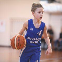 Aukštaitijos vaikų krepšinio lygoje – užtikrinta anykštėnų pergalė (FOTO)