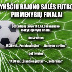 Šeštadienį – Anykščių rajono salės futbolo pirmenybių finalai