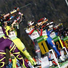 Anykštėnai dalyvavo biatlono varžybose Ignalinoje