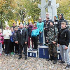 Anykščių rajone surengtas pagarbos bėgimas Šimonių giria – Svėdasai (FOTO)