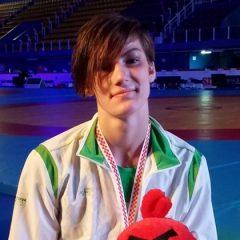Iš Kroatijos D.Domikaitytė grįžta su bronzos medaliu