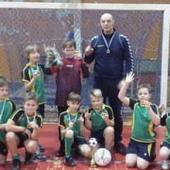 Jaunieji Anykščių futbolininkai triumfavo Rokiškyje
