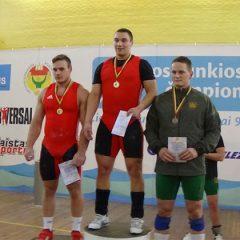 Anykštėnai sunkiaatlečiai dalyvavo varžybose Klaipėdoje (FOTO)